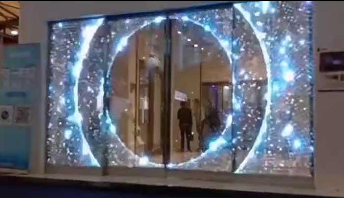 门店led透明屏