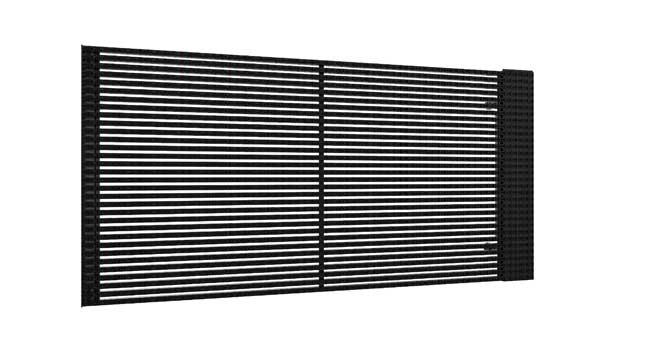 防水格栅屏系列:K15.625